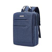 Wholesale business computer travel bag resale online - Large capacity laptop bag unisex computer backpack USB charging travel backpack business inch