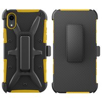 Wholesale protective phone cases zte online – custom For ZTE Tempo X Blade Force Sequoia Z Max VH Combo Belt Clip Kickstand Holster Shock Absorption Protective Phone Case