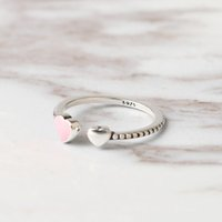Wholesale swarovski rings 925 for sale - Group buy 2018 Hot Sale Fashion jewelry Silver Crystal from Swarovski Simple wild small love opening ring Fit Women and female as gift