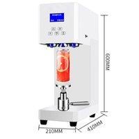 burbujas de plástico agua al por mayor-Comerciales pueden sellado bebida agua de la burbuja tienda de té con leche máquina fácil de sellado de la máquina taza poder de bebida sellado de la máquina