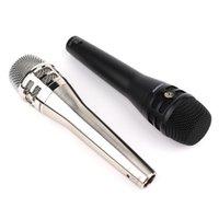 micrófono de etapa al por mayor-KSM8 Micrófono vocal dinámico cardioide Micrófono de mano profesional de karaoke para Live Stage Performance show Mic