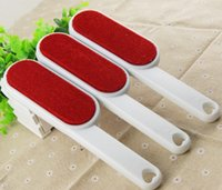 Wholesale combing brush for sale - Group buy Pet Dog Cat Fur and Lint Remover Double Sided Brush Removes from Clothes Linens Furniture Car Seats KKA7073