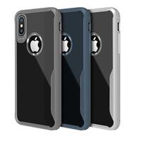 saydam cep telefonları samsung toptan satış-Iphone XR XS MAX X 6 S 7 8 artı cep telefonu kılıfı temizle şeffaf cep telefonu TPU kılıf kapak Samsung S8 S9 S10 Artı not 9 için ince yumuşak