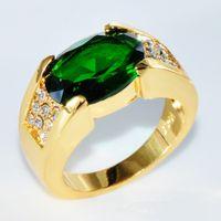 bague or avec grosse pierre