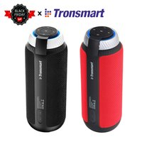 Wholesale portable aac player for sale - Group buy 100 Original Tronsmart Element T6 Portable Bluetooth Speaker W DSP Stereo Sound Deep Bass outdoor portable mini Speaker T191128