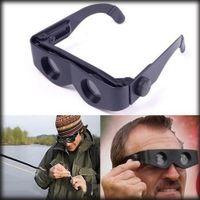konser gözlükleri toptan satış-Balıkçılık Yürüyüş Için taşınabilir Gözlük Stil Teleskop Büyüteç Dürbün Konser Spor Kaynağı Dürbün Balıkçılık Teleskop