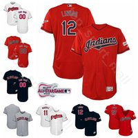 Wholesale francisco lindor jersey for sale - Group buy Men Kids Women All Star Baseball Jerseys Cleveland Game Indians Francisco Lindor Jose Ramirez Leonys Martin Jake Bauers
