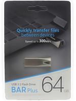 диски жесткие диски 64gb оптовых-2019 Горячий Продавать 32 ГБ 64 ГБ USB 2.0-3.0 логотип Флэш-накопители Флеш-накопители Пен-Драйв Дисковод С Откатной Пневмоприводом 30 шт.