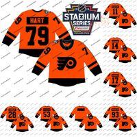 Wholesale cheap flyers jerseys for sale - 2019 Stadium Series Jerseys Claude Giroux Carter Hart Wayne Simmonds Mens Stitched Philadelphia Flyers Hockey Jerseys Cheap
