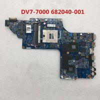Wholesale intel hm77 motherboard online - High quality For DV7 DV7 DV7T Laptop motherboard ST06 HM77 full Tested