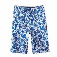 ingrosso corti blu stella-2019 Summer Beach Shorts Moda Uomo Casual Stella Blu Spiaggia stampata Casual da uomo Pantaloncini corti Pantaloni più taglia L415