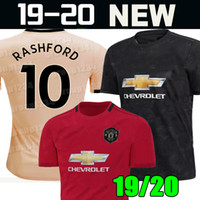 81788af8d Manchester 2019 2020 LUKAKU MARTIAL POGBA Rosa unita Soccer Jersey RASHFORD  Maglia per bambini Uomo kit Football Shirt 19 20 Utd Top attrezzature