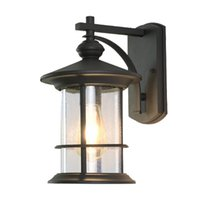 antika duvar lambaları toptan satış-Amerikan Antik Lambalar Açık Işık dışarıda Su geçirmez Duvar Lambaları Koridor Pas Duvar Lambaları Villa Vitrin Kapı Dış Aydınlatma led