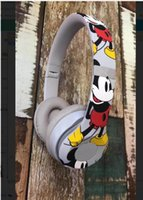 ingrosso regali di anniversario liberano il trasporto-Auricolari senza fili Bluetooth delle cuffie di Bluetooth dell'edizione di Mickey 90th Cheap 3 di Mickey del regalo di Natale 2019 DHL libera il trasporto