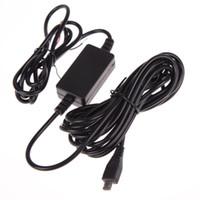 convertidor usb 24v al por mayor-Módulo convertidor de CC de coche de alta calidad 12V 24V a 5V 1A con cable micro USB de 5 pines Cable de protección de bajo voltaje Longitud 4M 13FT