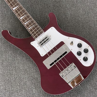 Wholesale bass guitar china for sale - Group buy Rare RIC Strings Metallic Red Electric Bass Guitar Awesome China Guitars