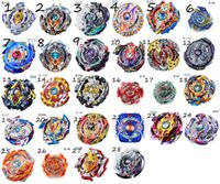 Wholesale beyblade toys online - 28 Designs Clash Metal D Beyblades Beyblade Burst Spinning Tops Boys Kids Toys Beyblade Burst Party Favor CCA9918