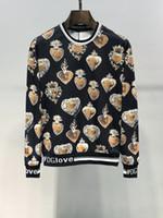 ingrosso maglione stile hip hop-DG nuovissimo stile uomo maglione designer lusso uomo donna felpe con cappuccio in cotone pullover di alta qualità maglione con cappuccio hip hop top per il tempo libero selvaggio