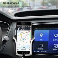 lenkrad montiert bluetooth großhandel-Autotelefonhalterung für das Telefon im Auto Halterung für Lüftungsschlitze Kein magnetischer Handyhalter Universal Gravity Smartphone Cell Support