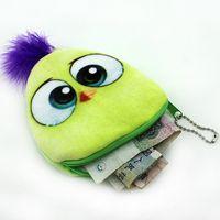 çocuklar için fermuarlı cüzdanlar toptan satış-2019 Sevimli Kadın Çocuk Kız Pamuk Coin Çantalar Sahipleri Fermuar Para Çanta Kılıfı Çocuklar Küçük Cüzdan Coin Bankası Kılıf CA1-012