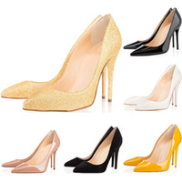 Wholesale stiletto party pumps online - 2019 Designer Shoes sneaker So Kate Styles High Heels Shoes Red Bottoms black luxury Nude CM Genuine Leather Point Toe Pumps Rubber