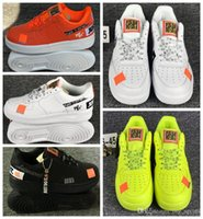freizeitkorb großhandel-2019 Mens Womens 1 Skateboard Schuhe Designer Weiß Schwarz Körbe Casual Grün Sport Sneakers Trainer Hohe Qualität des chaussures nike air max just do it off white