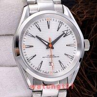 Wholesale bond bracelet for sale - Group buy 41 MM Mens M Aqua Terra SEA co axial Bond Men Watches Bracelet Reloj Automatic Mechanical Movement Steel Watch Wristwatches