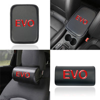 Wholesale mitsubishi asx car for sale - Group buy Car Seat Head Neck Rest Safety Cushion Support Pillow Headrest Pad For mitsubishi EVO asx outlander pajero Auto Safety Pillow