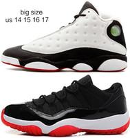 Mens Sport Turnschuhe große Größe US 14 15 16 EUR 48 49 50 Basketball Schuhe Freies Verschiffen