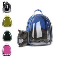ingrosso piccola cassa di viaggio per cani-Zaino Pet Cat Backpack per Kitty Puppy Chihuahua Small Dog Carrier Crate Outdoor Borsa da viaggio Cave per Cat