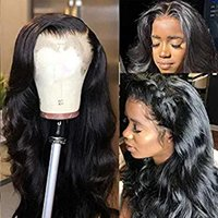 Wholesale body wave african american wigs for sale - Group buy 360 Lace Frontal Wigs Body Wave Pre Plucked African american Density Lace Front Human Remy Hair Wigs For Black Women Natural