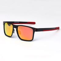 Wholesale titanium eyewear for men resale online - Men cycling glasses outdoor goggles UV400 Polaroid Sunglasses Bycicle Glasses For Riding Running Sport Bike Eyewear