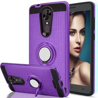 Wholesale chinese g9 for sale - Group buy For Huawei P8 LITE G PLAY MINI G8 G9 PLUS Y3II Y5II Y6II Ring KickStand Dual Layer Resistant Magnetic Back Cover CASE