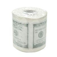 cadeau d'un dollar achat en gros de-Nouveau papier de cent dollars imprimé papier hygiénique Amérique Dollars US Nouveauté Drôle Drôle 100 $ TP Argent Gag Cadeau