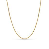 colar de moda elegante e simples venda por atacado-NOVA 2019 100% 925 Sterling Silver Senhoras Temperamento Ouro Elegante Simples Colar Fit Mãe Presente Da Jóia Da Forma Original