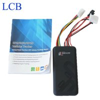 Wholesale gps fence resale online - GT06 Car GSM GPS Vehicle motorcycle tracker with Geo Fence Overspeed and ACC ON sos Alarm Fuction GPS Tracker