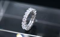 schmuck voller satz großhandel-Bestseller Europäischen Luxuriöse Zirkon Ring Full Set Diamant Ring Finger Ornamente Geburtstagsgeschenk Party Schmuck