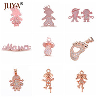Wholesale mama jewelry for sale - Group buy 9 Pieces Kawaii Jewelry Little Kids Boy Girls Mama Connectors Charms For Women Handmade Jewelry Making DIY Craft
