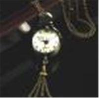 gemi klasik saatler toptan satış-Sıcak Pazarlama Retro Vintage Bronz Kuvars Topu Cam Cebi Kolye Zinciri Steampunk Jun9 Ücretsiz Kargo