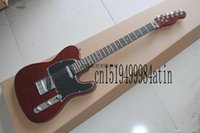 Wholesale free shipping for guitars resale online - QWES rosewood custom shop electric guitar model for sale guitar