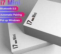 наушники с двойным bluetooth оптовых-I7s Mini TWS Bluetooth 5.0 наушники Беспроводные наушники гарнитуры Двойные наушники с зарядным Box для телефона с розничным пакетом