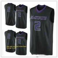 Wholesale kansas state resale online - custom made Kansas State Wildcats man women youth basketball jerseys size S XL any name number