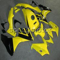 обтекатели honda cbr125r оптовых-Подарки + Винты желтый капот мотоцикла для двигателя Honda HONDA CBR125R 2004-2005 обтекатель