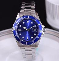 relógio de luxo vencedor venda por atacado-luxo famoso mens relógios designer de moda dia automático feito vencedor pulseira de couro mestre de quartzo relógio masculino