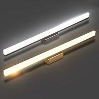 badspiegel kostenloser versand großhandel-freie Spiegel-vordere Wand der Verschiffen Qualitäts-7W 10w LED beleuchtet 40 / 60cm Aufbereiter moderne kurze Wand-Lampe des Badezimmer-LED