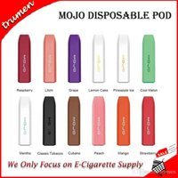 Wholesale e shisha flavors for sale - Group buy Original Mojo Disposable Vape Pen mAh Prefilled ml Portable Pod Starter Kit Flavors E Cig Shisha Pen Kit