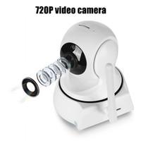 detecção de segurança venda por atacado-2019 Nova Câmera IP de Segurança Doméstica Câmera WiFi Câmera de Vídeo Vigilância 720 P Visão Noturna Detecção de Movimento Câmera P2P Câmera Monitor de Bebê Zoom