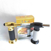 Wholesale professional cooking tools resale online - XXL Professional Torch Jet BBQ Lighters Scorch Flame Chef Cooking Refillable Picnic Butane Gas Lighter For Kitchen Smoking Tools Style
