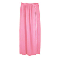 бикини шифон прикрыть оптовых-Women Chiffon Bikini Cover Up Swimwear Beach Maxi Wrap Long Skirt