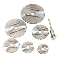 Wholesale circular saw blade dremel for sale - Group buy New Portable Rotary Tool Circular Saw Blades Cutting Discs Mandrel For Dremel Cutoff